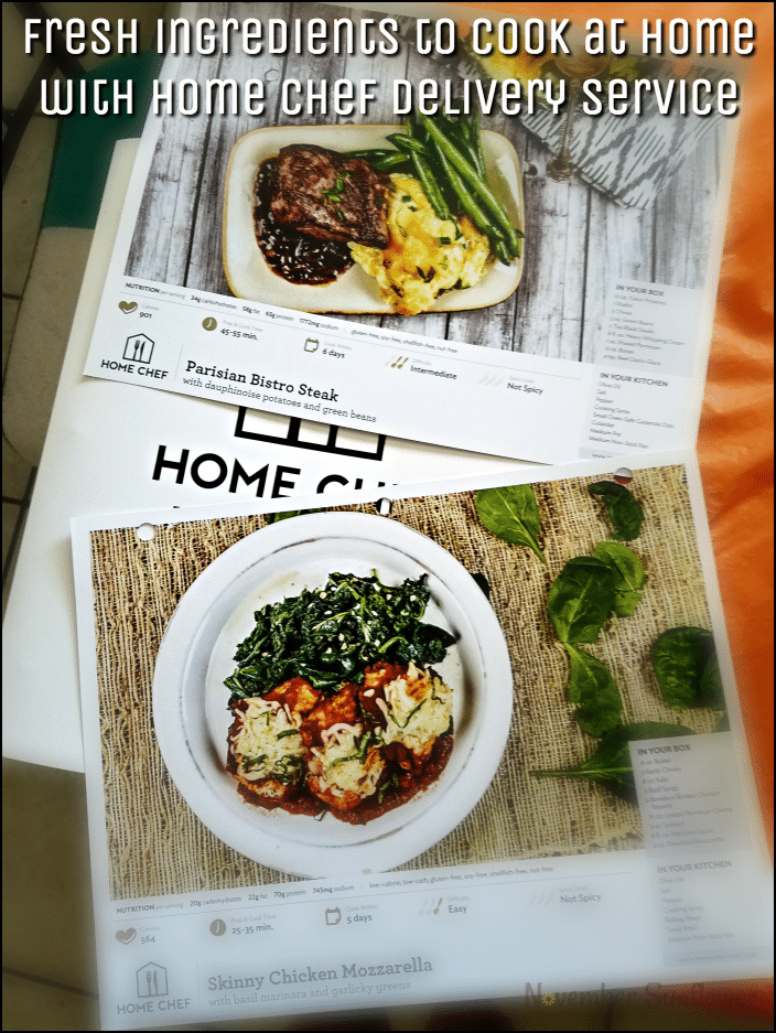 Fresh ingredients to cook at home with Home Chef delivery service [sponsored]