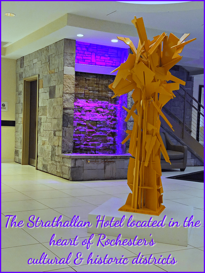 The Strathallan Hotel located in the heart of Rochester's cultural & historic districts [sponsored]