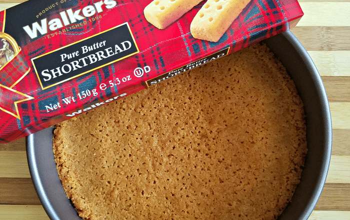 Transform shortbread cookies into a pie crust for any pie