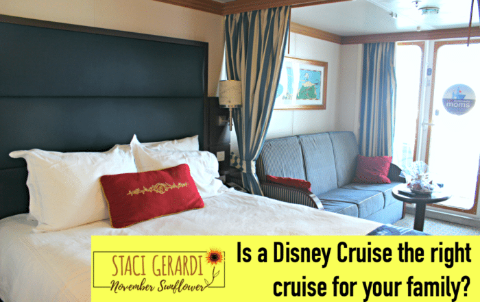 Is a Disney Cruise the right cruise for your family?