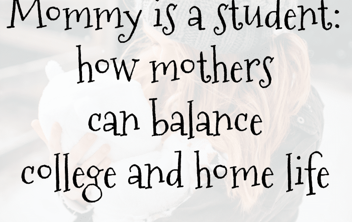 balance college and home life NovemberSunflower.com
