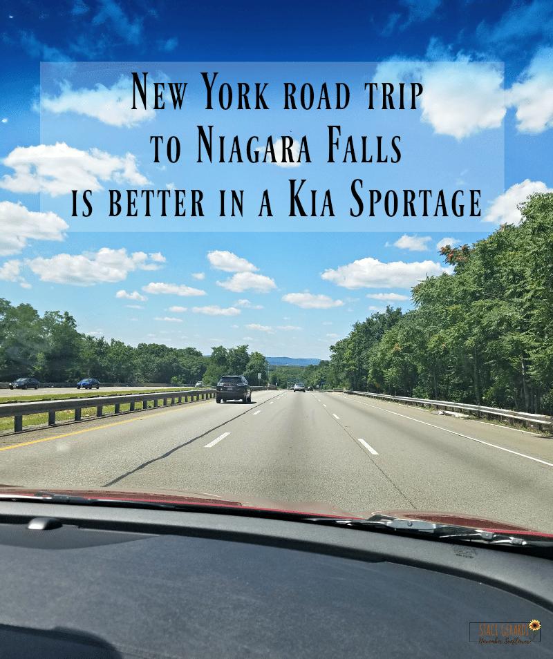 New York Road Trip Kia Sportage