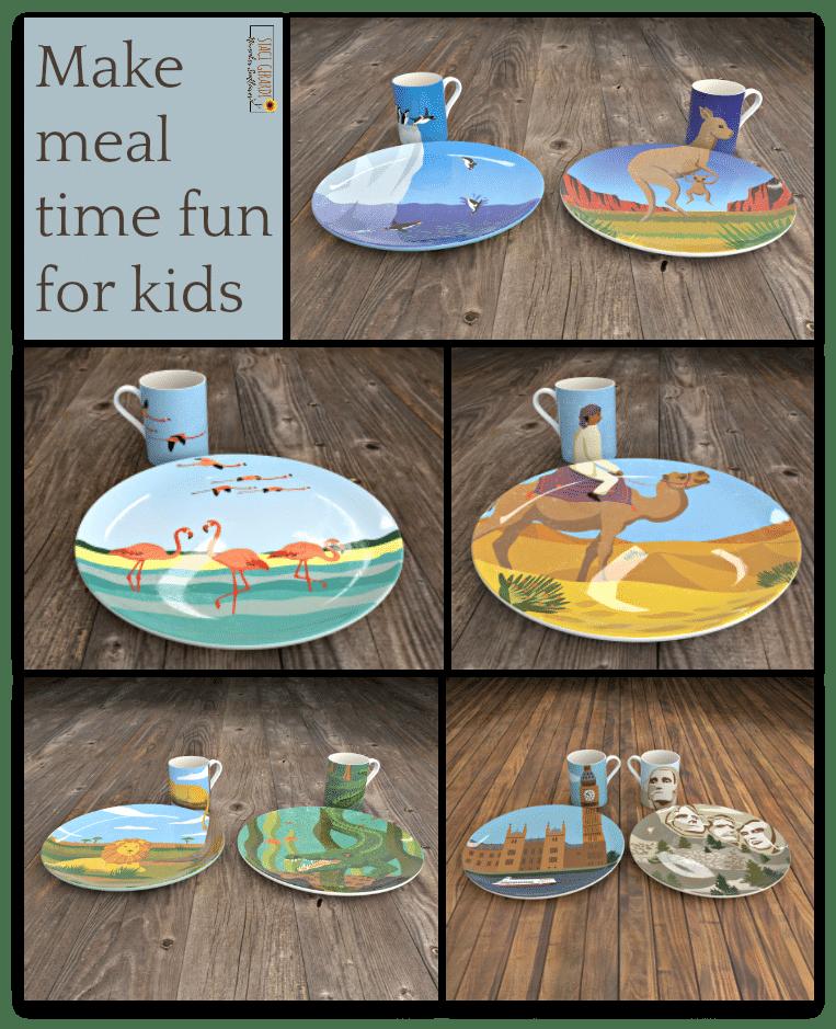 Make meal time fun for kids