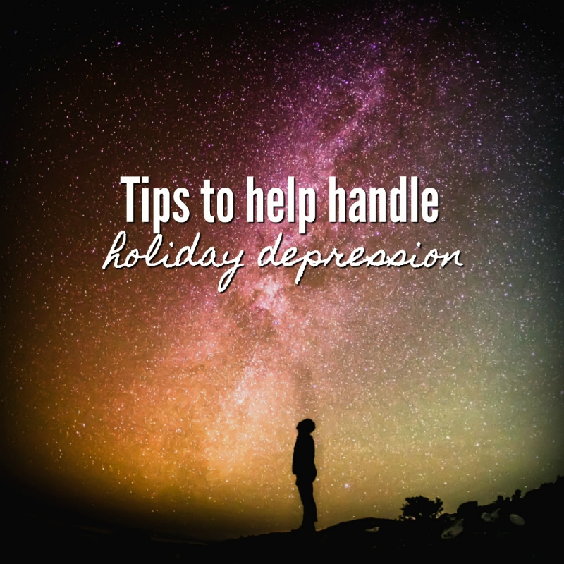 Tips to help handle holiday depression