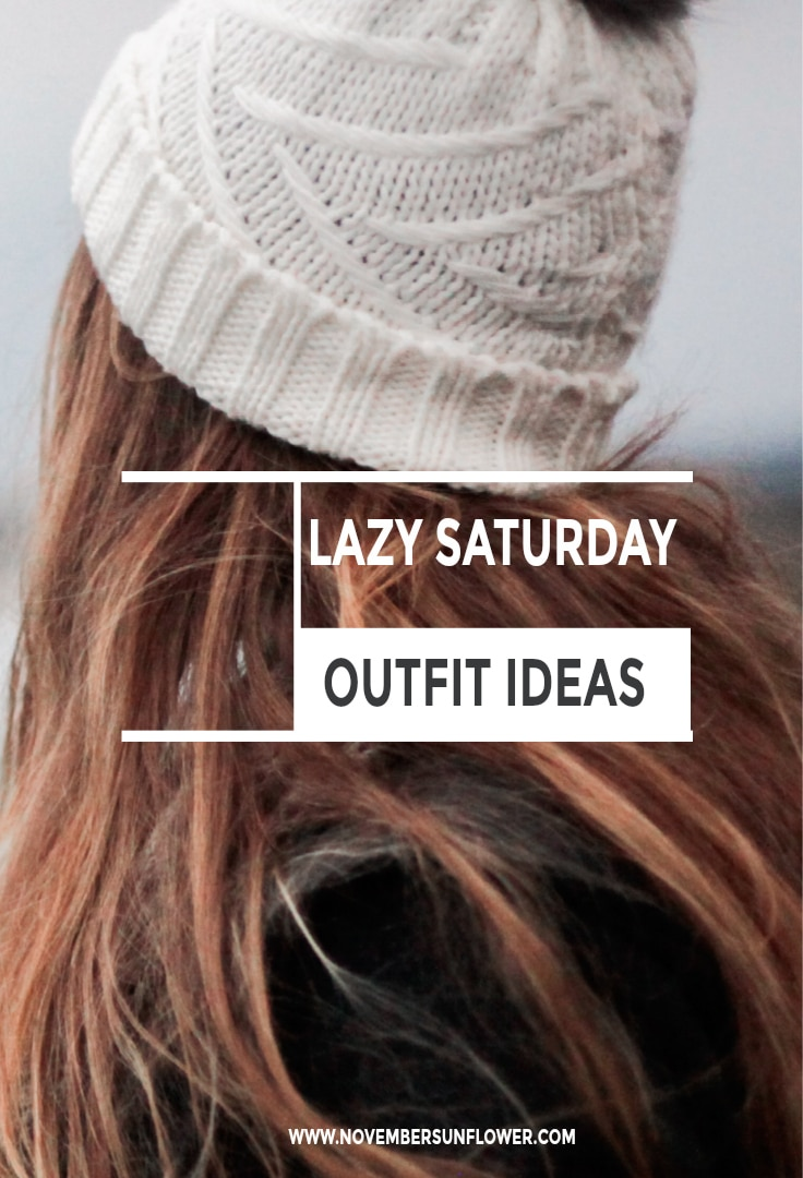Lazy Saturday Outfit ideas. Fashion doesn't stop on the weekend.