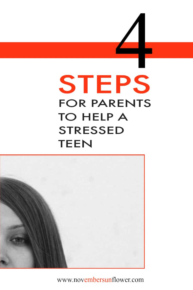 Stressed teen parenting help
