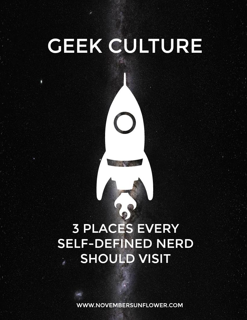 Geek Culture - self-defined nerd