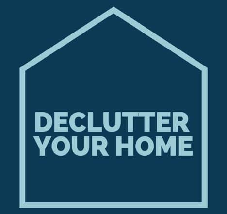 deep decluttering your home tips