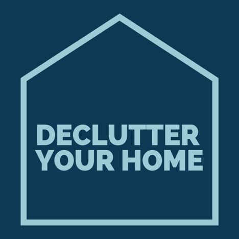 deep decluttering your home tips