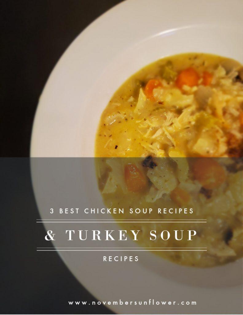 3 best chicken soup recipes