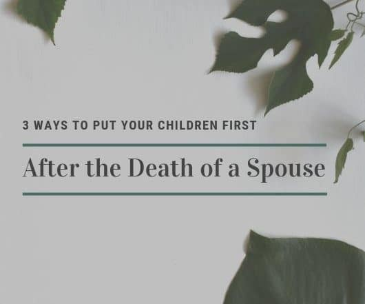 death of a spouse