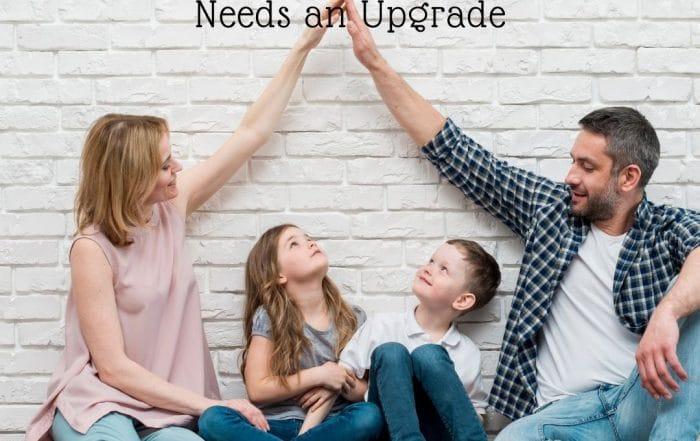 family home needs an upgrade