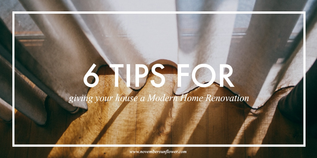 6 tips for updating your house