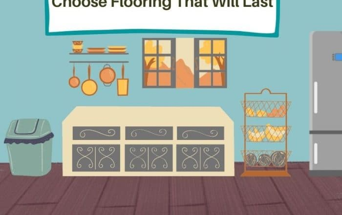 choose flooring to childproof your kitchen