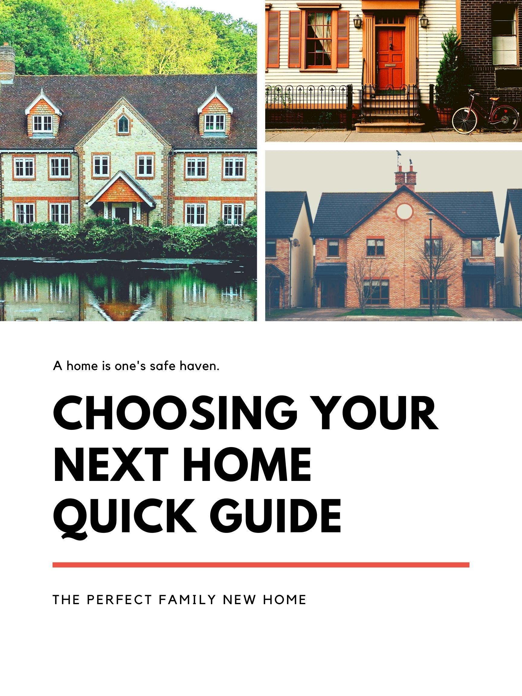 Choosing the perfect home for sale for your family