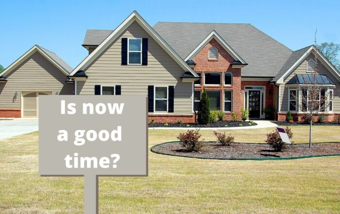 now a good time to by a new home