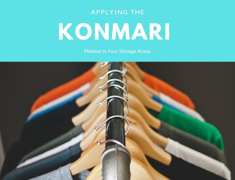 Applying the KonMari Method to your storage areas