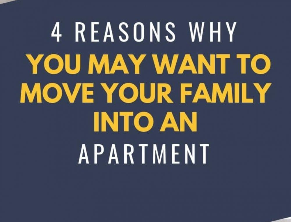 4 advantages to moving your family into an apartment