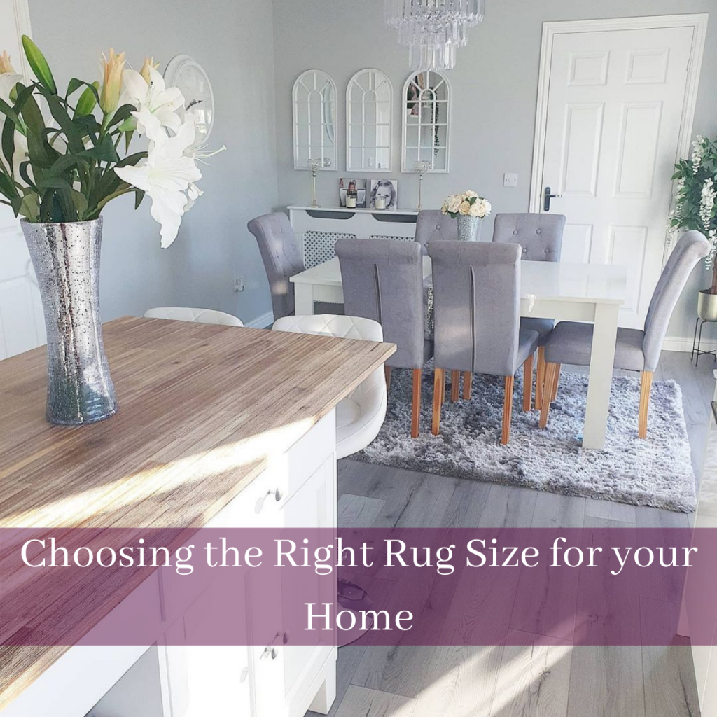 choosing the right rug size for your home