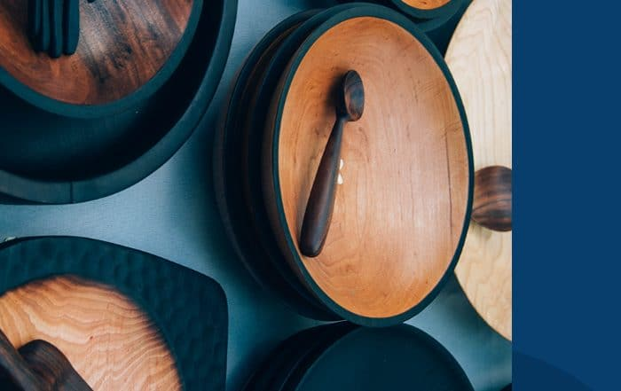 Wooden Plates and Utensils - Quality Kitchenware