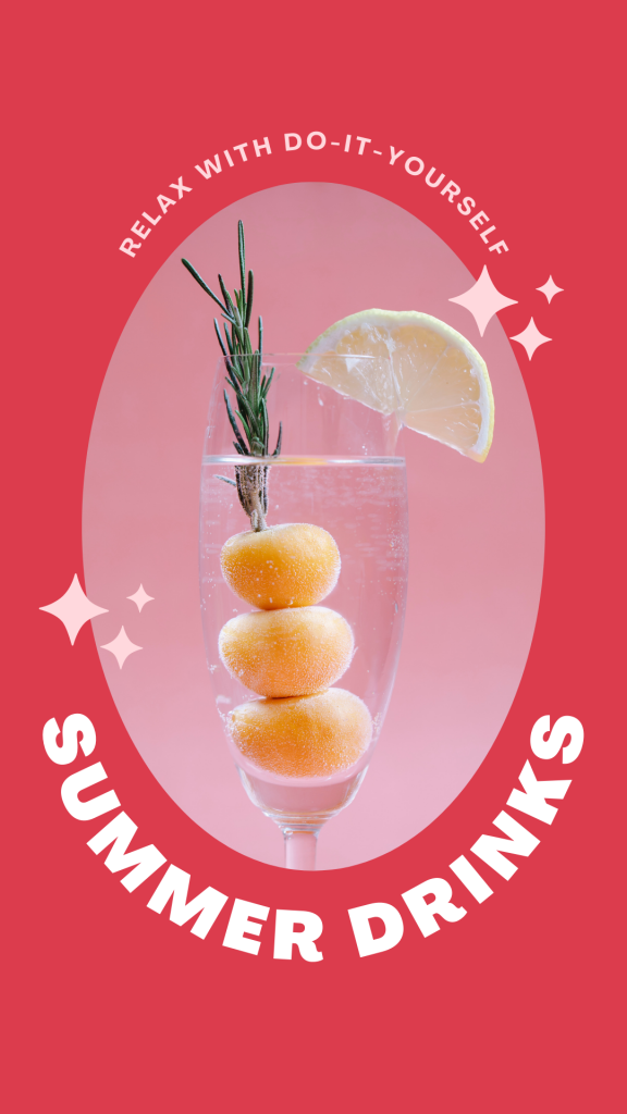do it yourself summer drinks