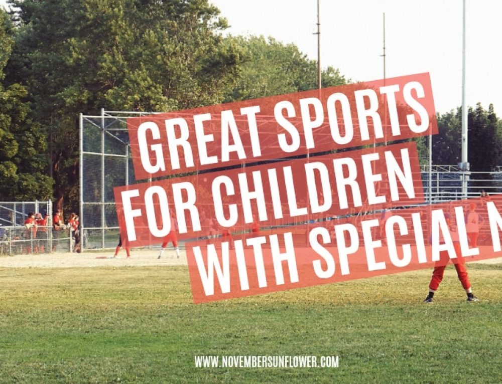 Great sports for children with special needs