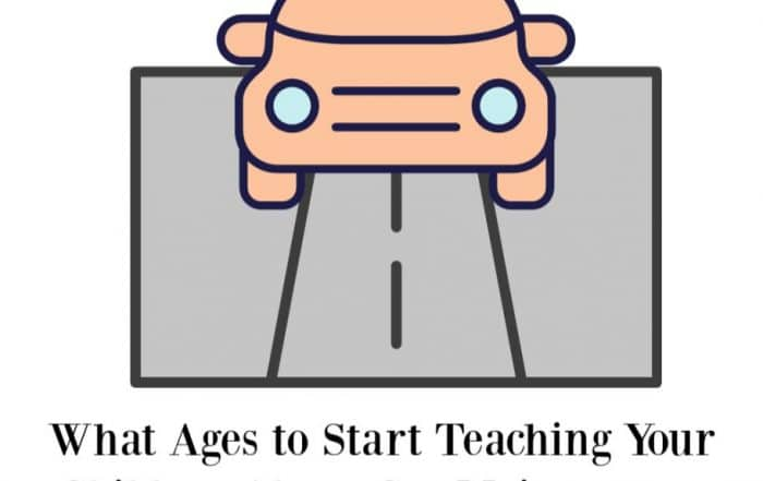 what ages to start teaching your children about car maintenance and safety