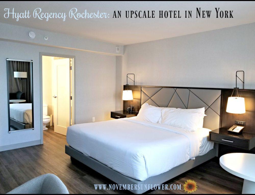 Hyatt Regency Rochester: an upscale hotel in ny
