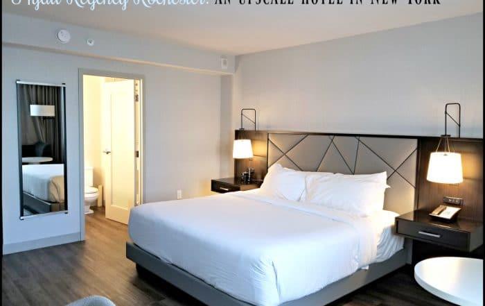 Hyatt Regency Rochester Hotel Room in an upscale hotel in NY