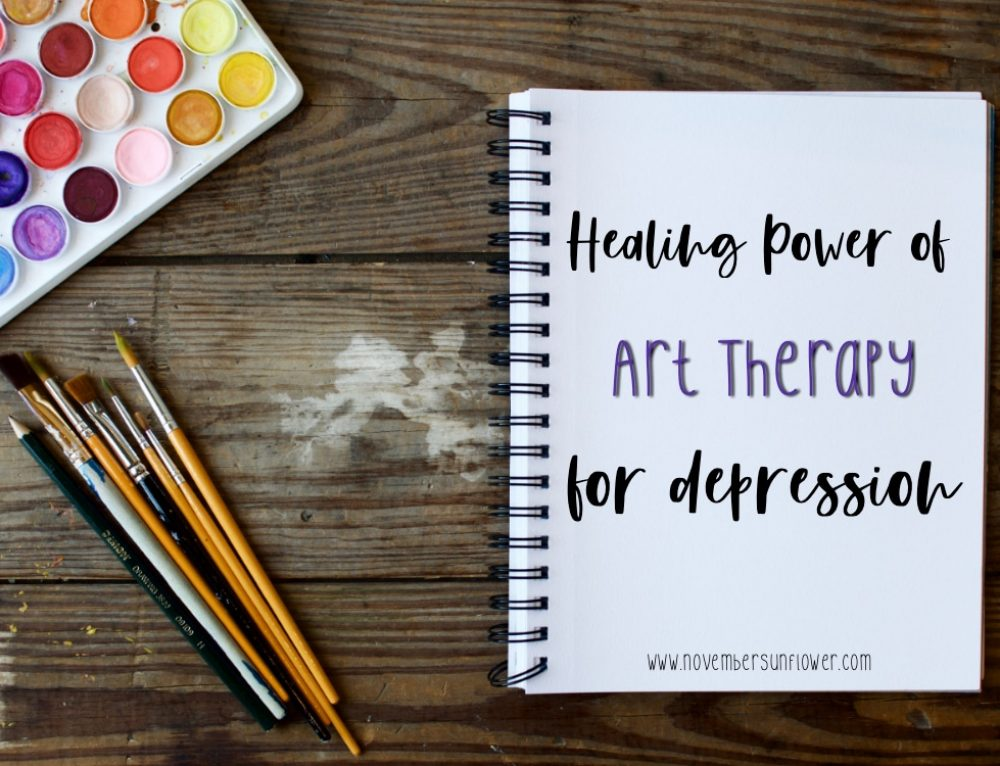 Healing Power of art therapy for depression
