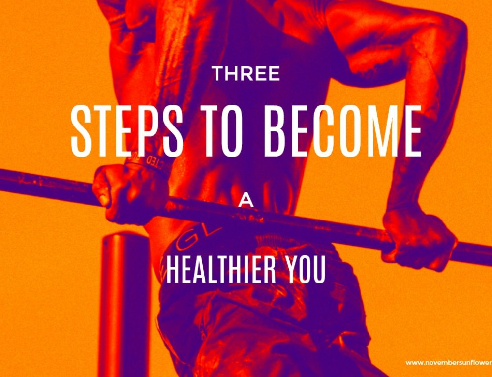 3 Steps to Become a Healthier You