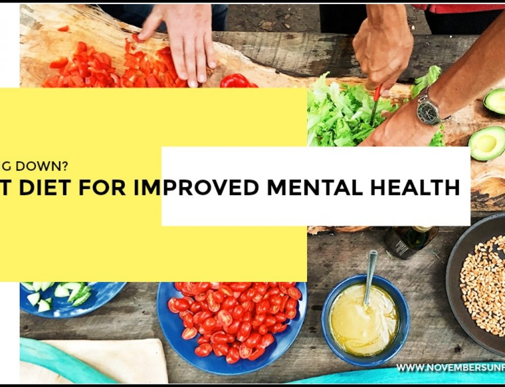 Feeling down? Learn what the best diet for improved mental health is