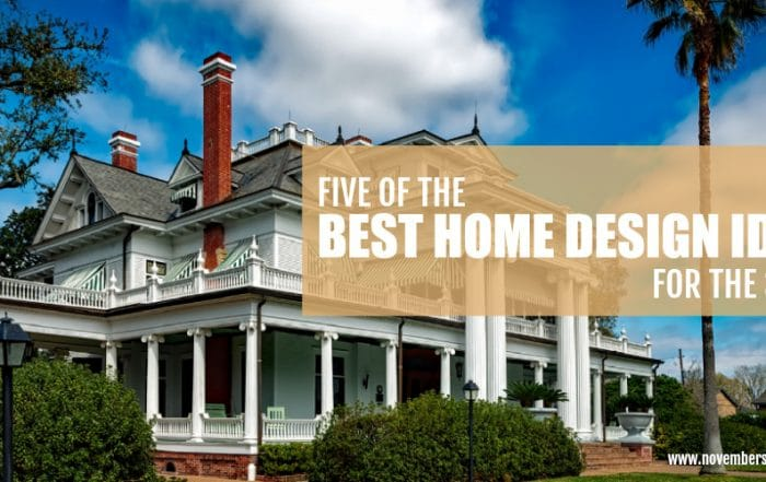 five of the best home design ideas