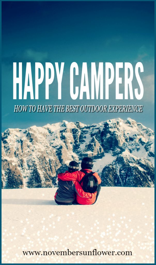 how to have the best outdoor experience