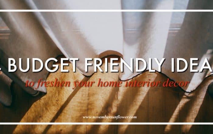 budget friendly home interior decor tips