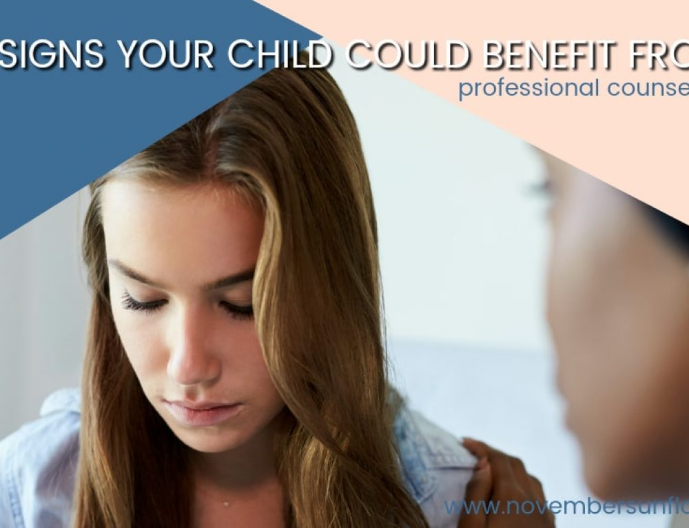 5 Signs Your Child Could Benefit From Professional Counseling