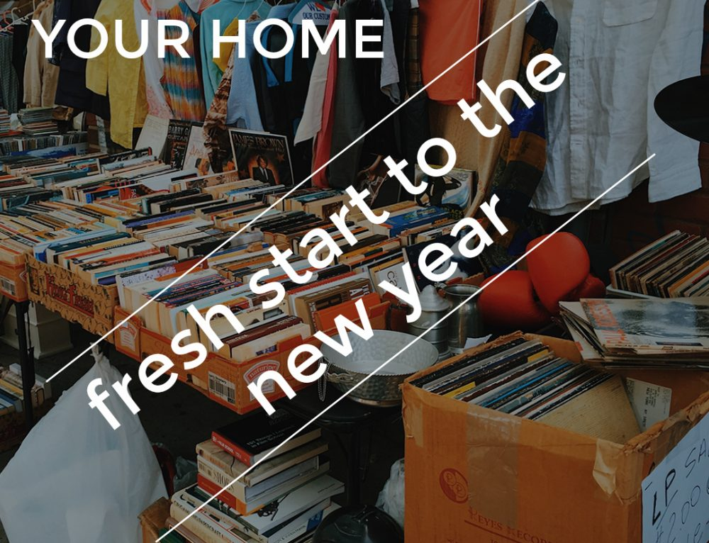Fresh Start: 4 Reasons to Clean Out Your Home Before the New Year