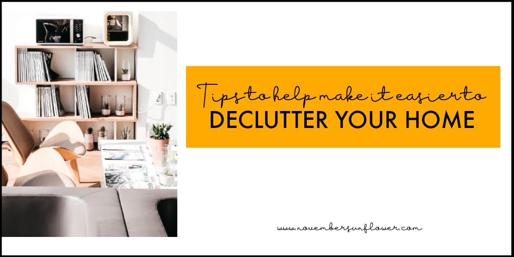 declutter your home tips for the new year