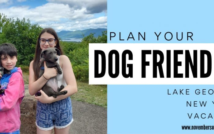 planning your family's dog friendly Lake George vacation