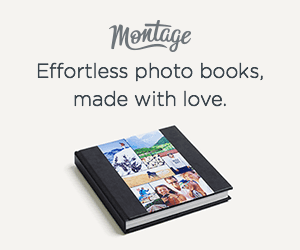 Montage photo book for Mom