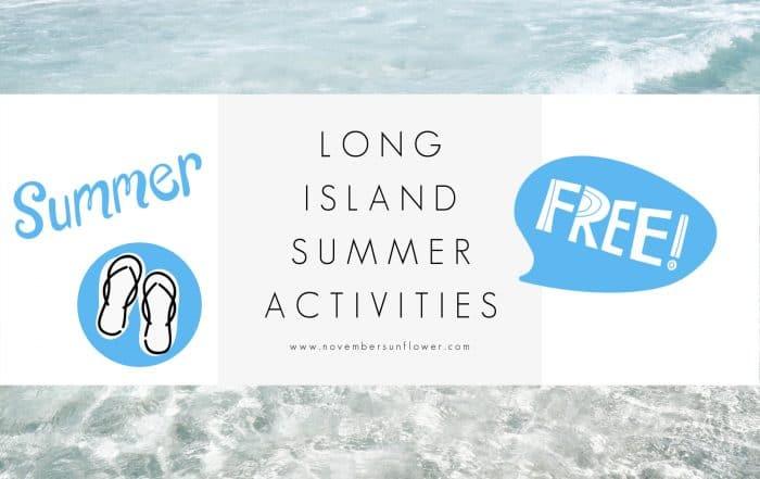 free long island summer activities
