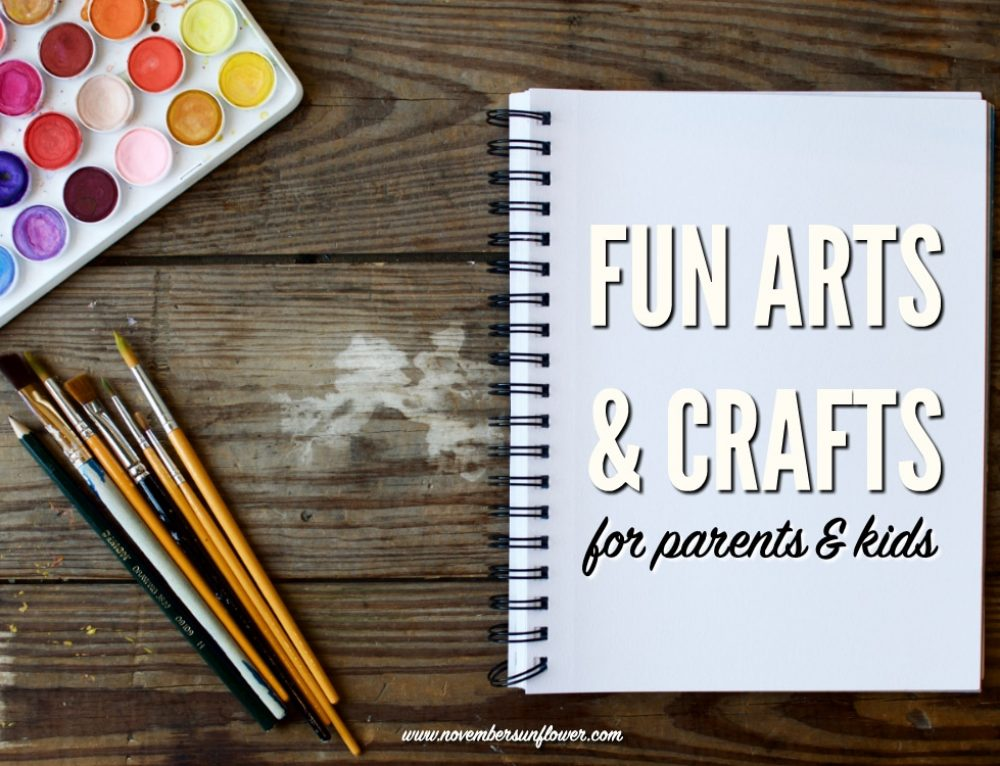 5 fun arts and crafts to teach your kids