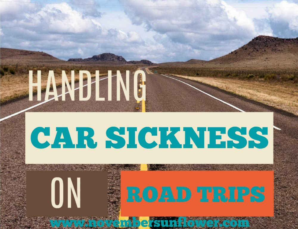 Handling Car Sickness on Road Trips