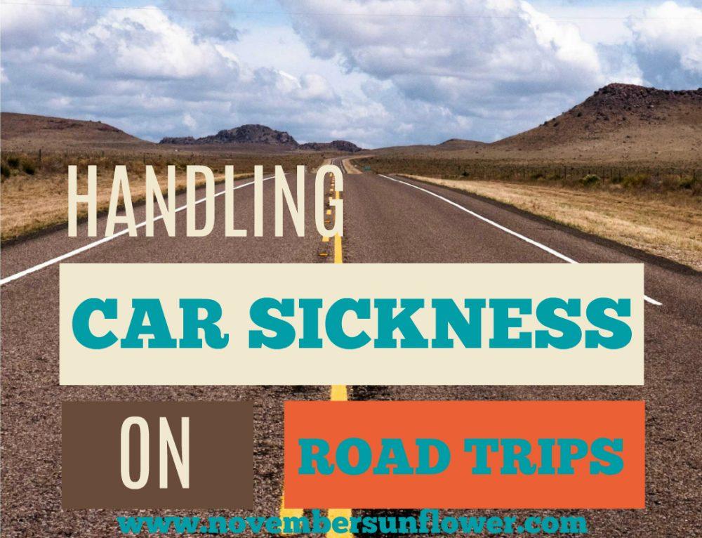 Handling Car Sickness on Road Trips