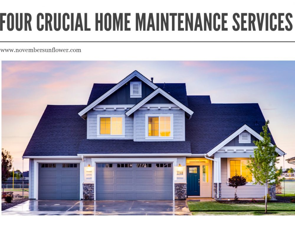 4 Home Maintenance Services to Carry out for Preventing Repairs