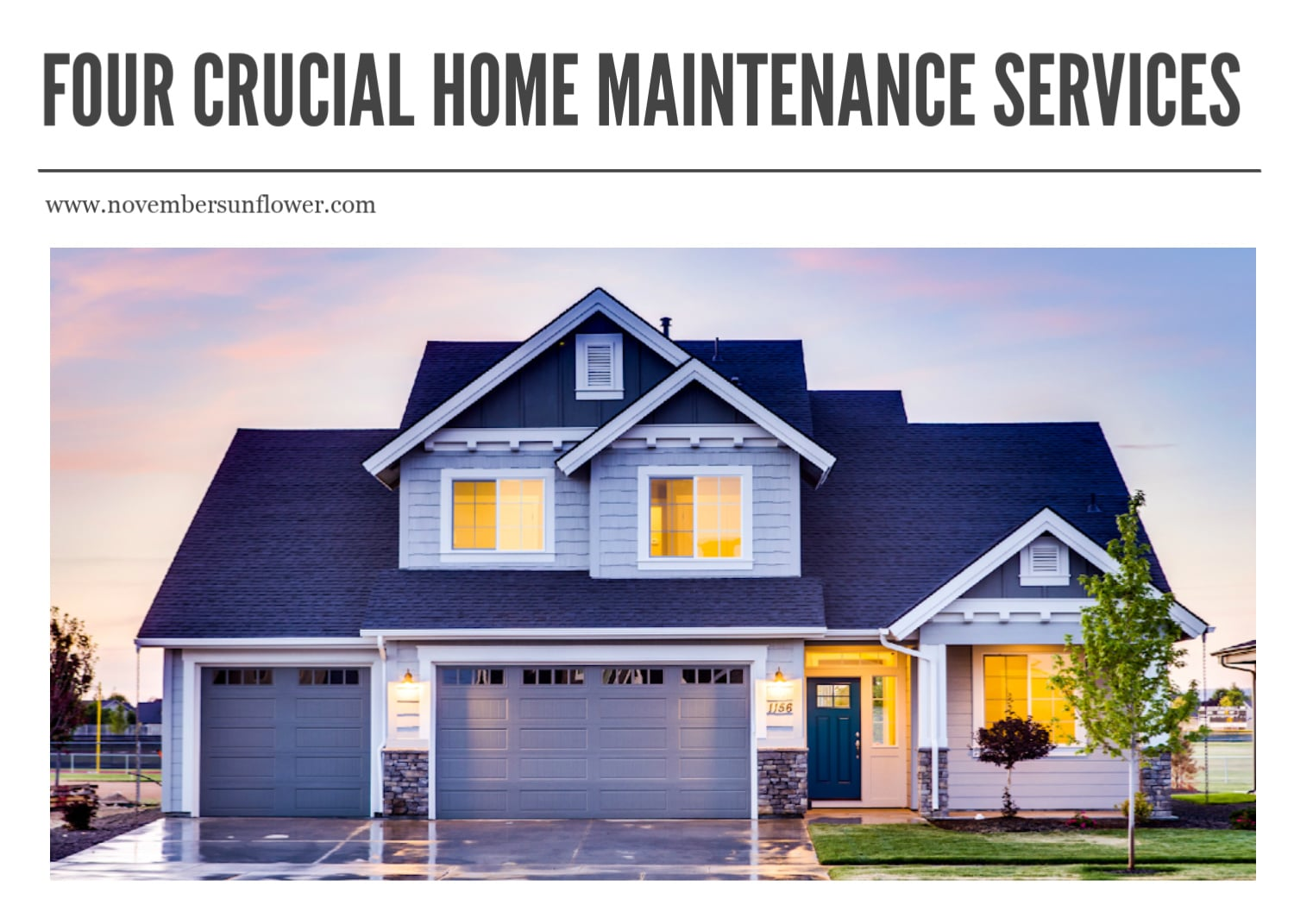 Crucial Home Maintenance Services