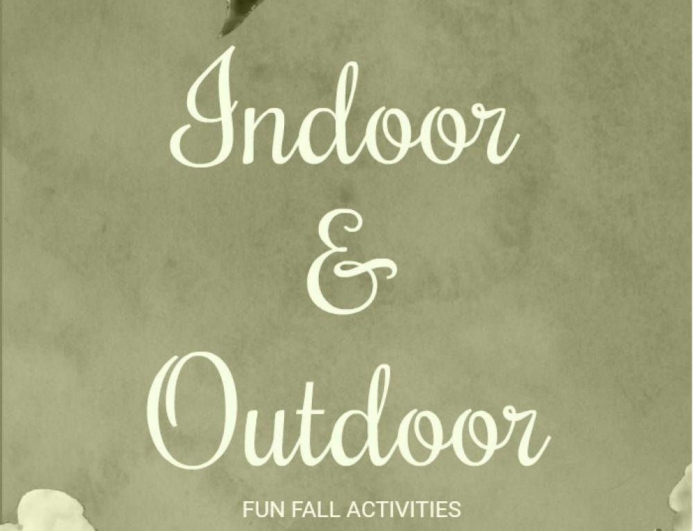 Fun Indoor and Outdoor Fall Activities for Families