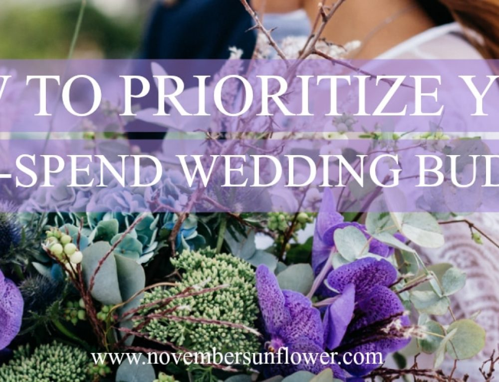 How to Prioritize Your Low-Spend Wedding Budget