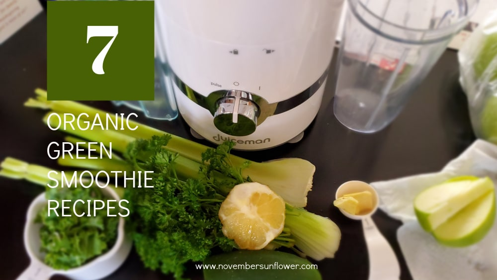 organic green smoothie recipes