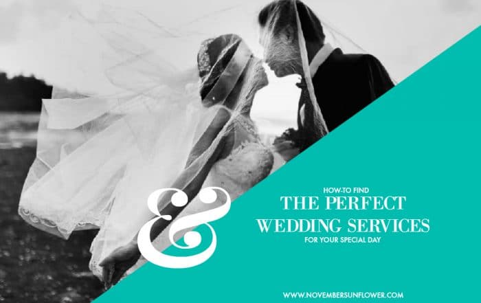 find the perfect wedding services